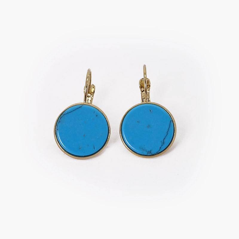 Earrings with gemstone CHORANGE