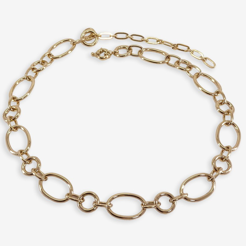 metal plated necklace chorange