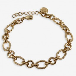 chorange fashion jewellery chain  bracelet gold plated