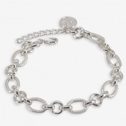 chorange fashion jewellery bracelet silver plated
