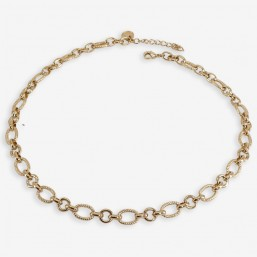 GUILLO necklace plated gold...