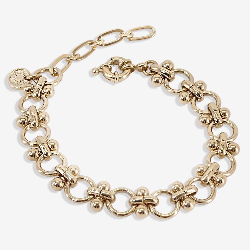 CHORANGE bracelet chaine doré