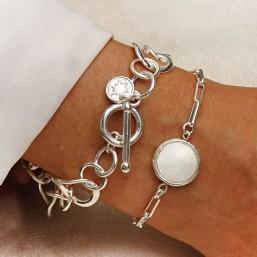 Bracelet argent femme Chorange créateur de bijoux fantaisie