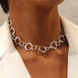 Chorange necklace, french designer of fashion jewellery made in France