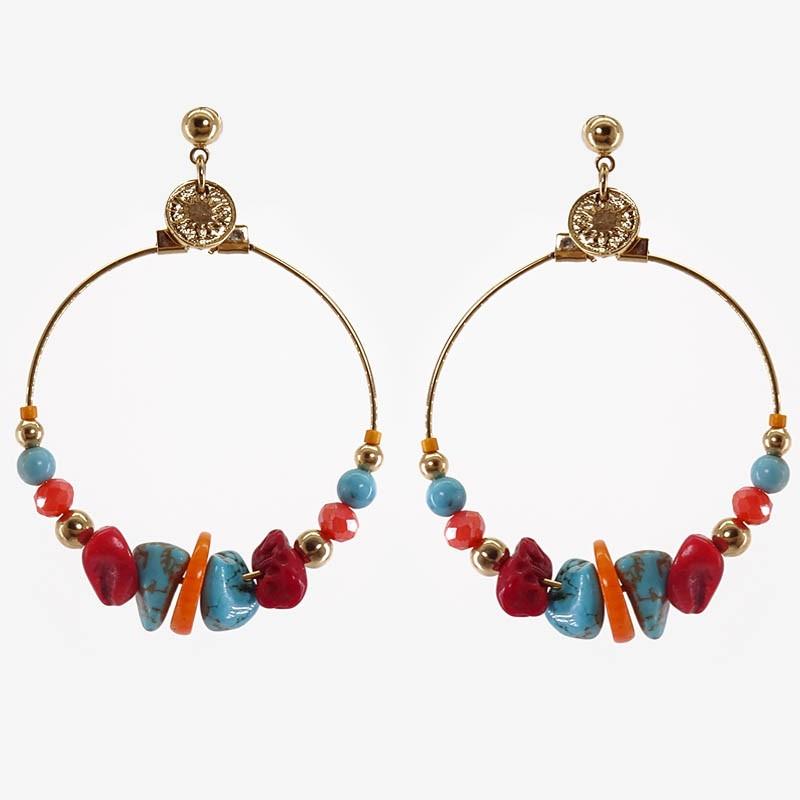 boucles d'oreilles pendantes createurs
