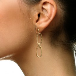 metal earring plated by Chorange fashion jewelry