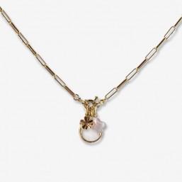 collier CHORANGE avec pendant en nacre Chorange bijoux fantaisie