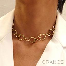 Collier créateur fantaisie Chorange Cannes bijoux de créateur