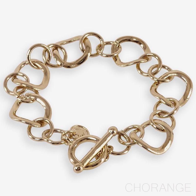 Bracelet chaine or Chorange créateur de bijoux fantaisie