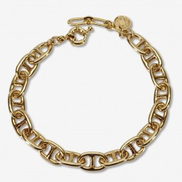 bracelet size 16cm + extention chain real fine gold plated 24 carats ou silver 925/1000
