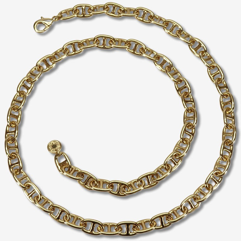 Necklace size 60cm  This jewellery is plated in France with fine gold 24 carats Our jewels are nickel free