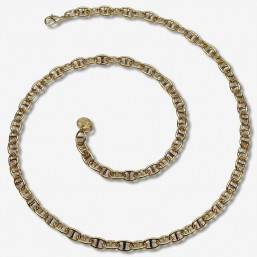 Necklace size 60cm coffe chain