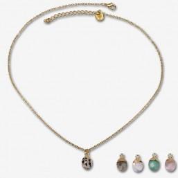 collier fantaisie or et pierre fine par chorange bijoux de créateur