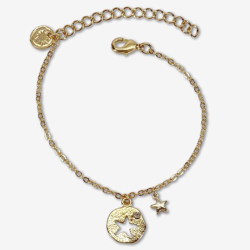 bijoux de créateur fabriqués à la main à Cannes dorés à l'or fin 24 carats - disponible à vente en gros aux professionnels