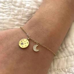 Bracelet gold plated by Chorange-designer-costume-jewellerys-wholesale
