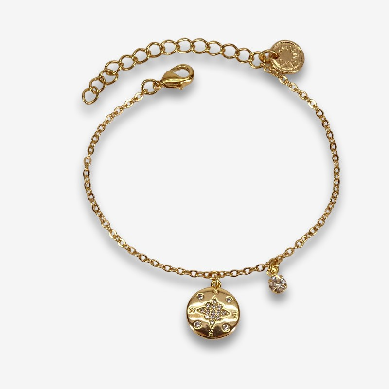 bracelet gold plated by Chorange made in France