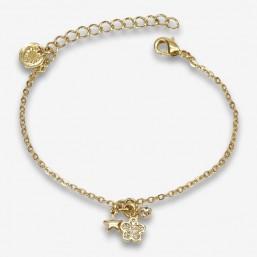 TrioFLEUR -  bracelet à...