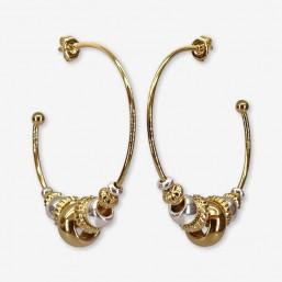 WIND hoop earrings