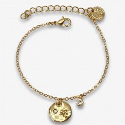 bracelet fantaisie  tendance plaqué or par chorange bijoux fantaisie de créateur