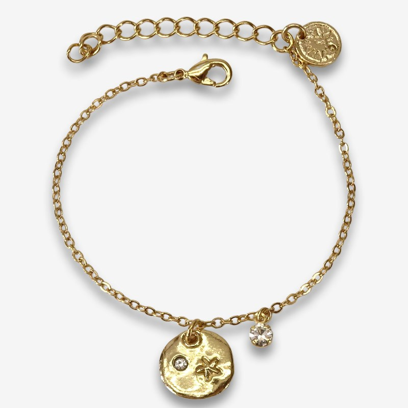 bracelet plated gold or silver made in France